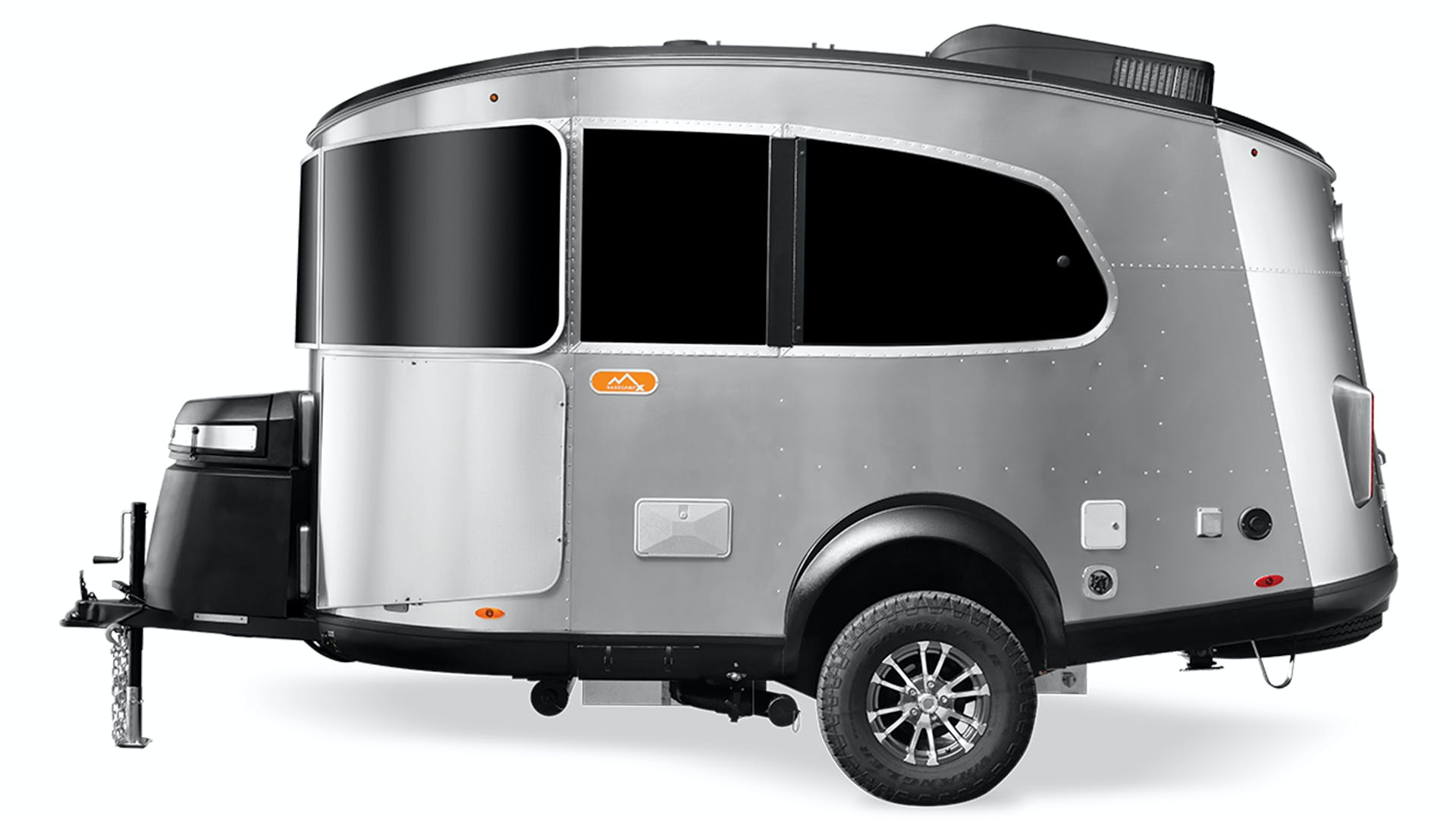 Airstream Basecamp X Street Side View