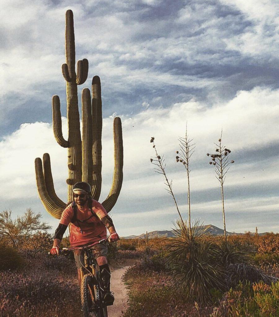 Nick Williams Airstream Ambassador Mountain Biking