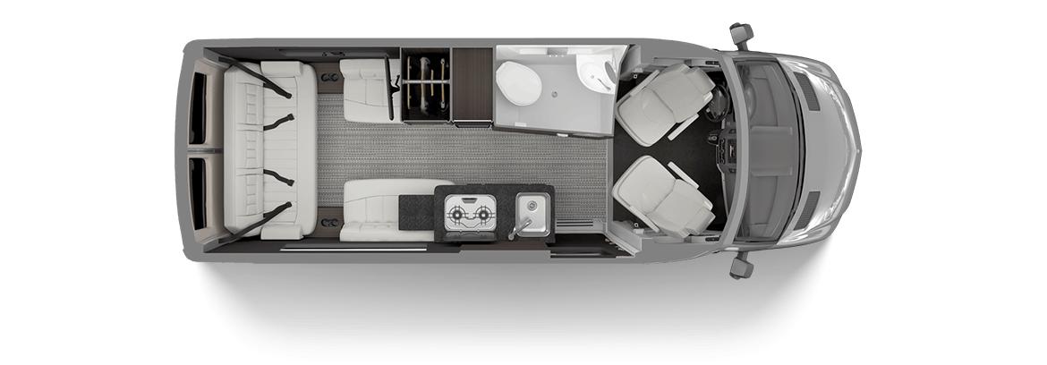 Airstream Interstate Nineteen Floor Plan