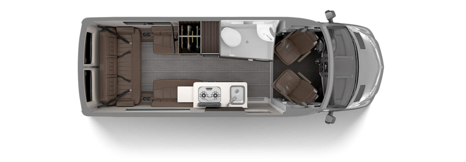 Airstream Interstate 19 Floor Plan