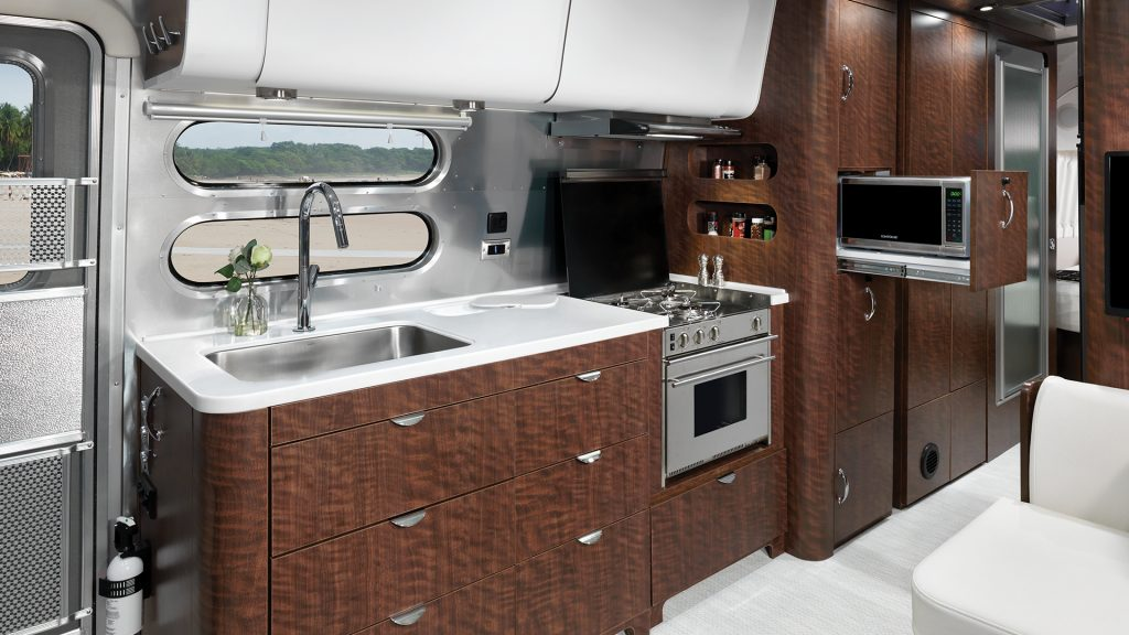 Globetrotter 30RB Galley Kitchen 2020