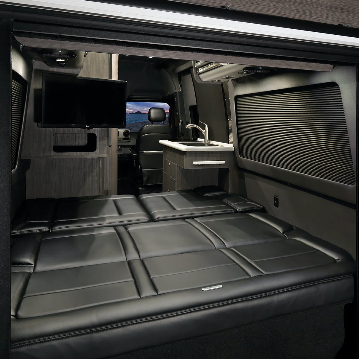 Airstream Interstate Nineteen Bed Down