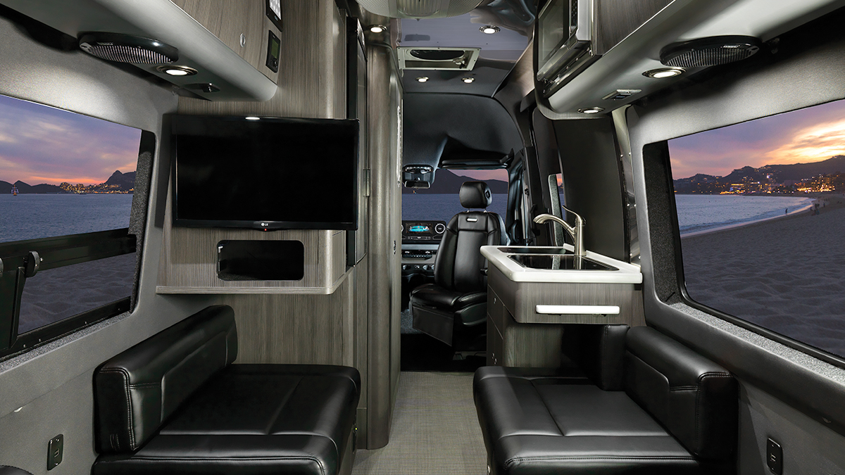 Airstream Interstate Nineteen Interior Design