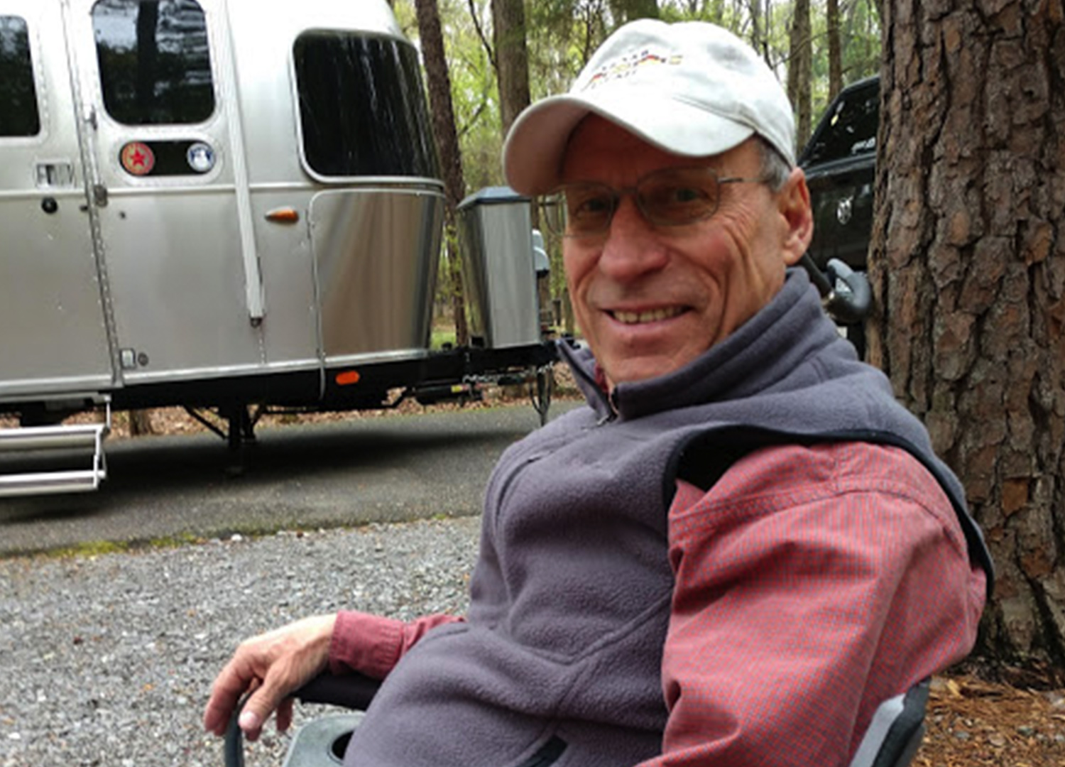 Airstream Customer Council Member Henry Knight