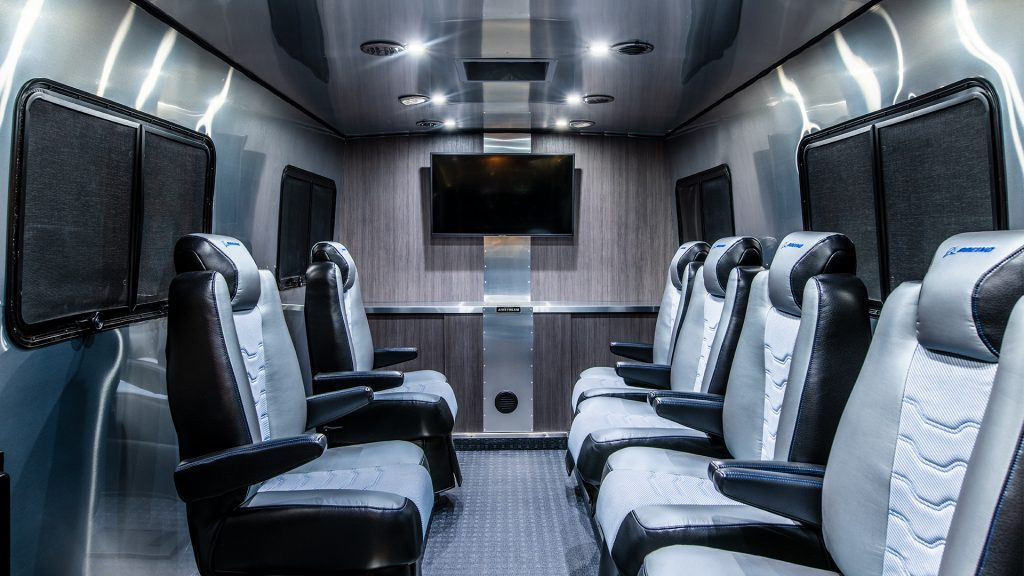 Airstream Astrovan Interior Picture Boeing Starliner