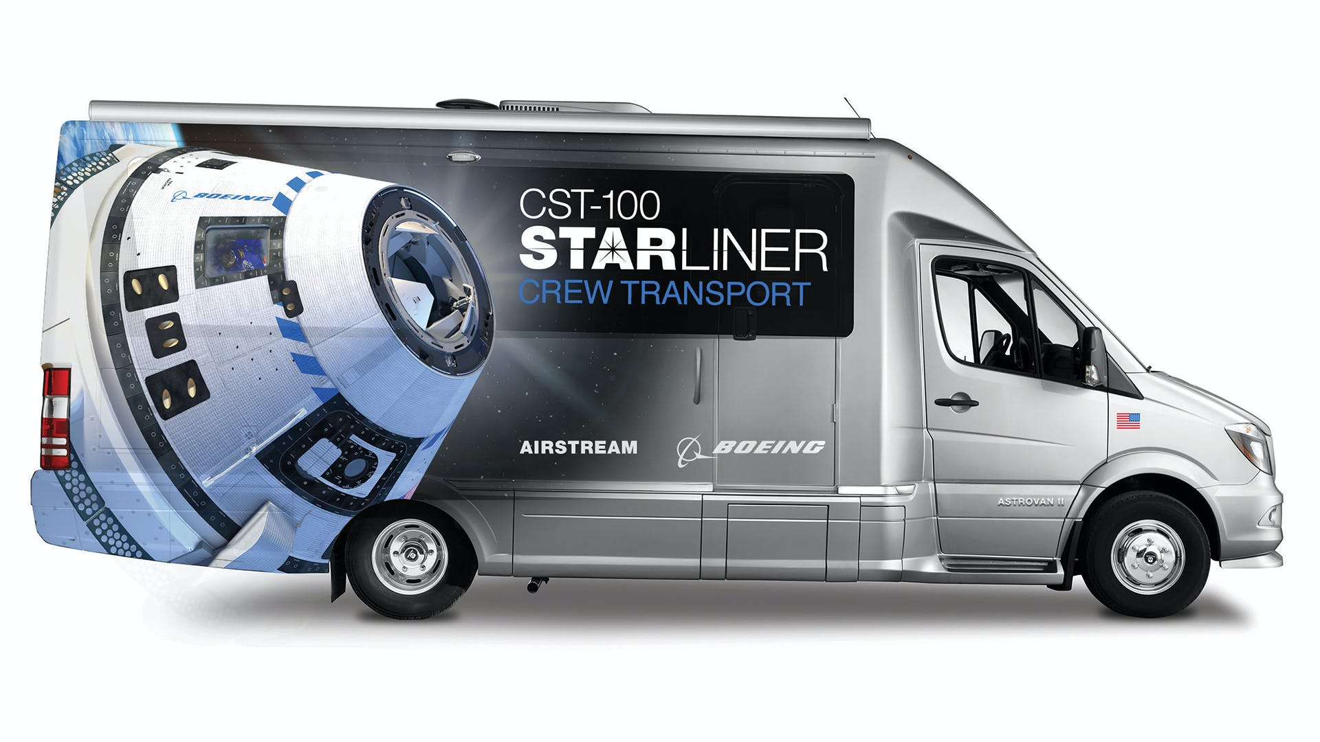 2020 Airstream Astrovan II Boeing Starliner Program
