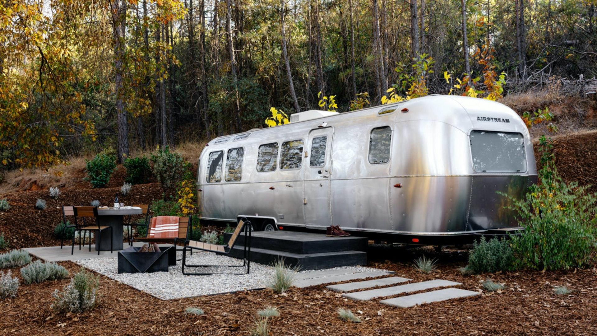 Airstream Autocamp Campsite