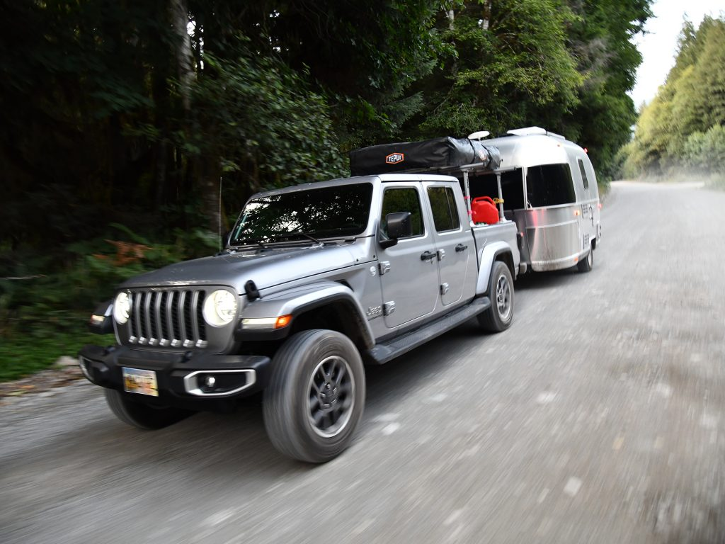 Airstream Sport Travel Trailer and 2020 Jeep Gladiator