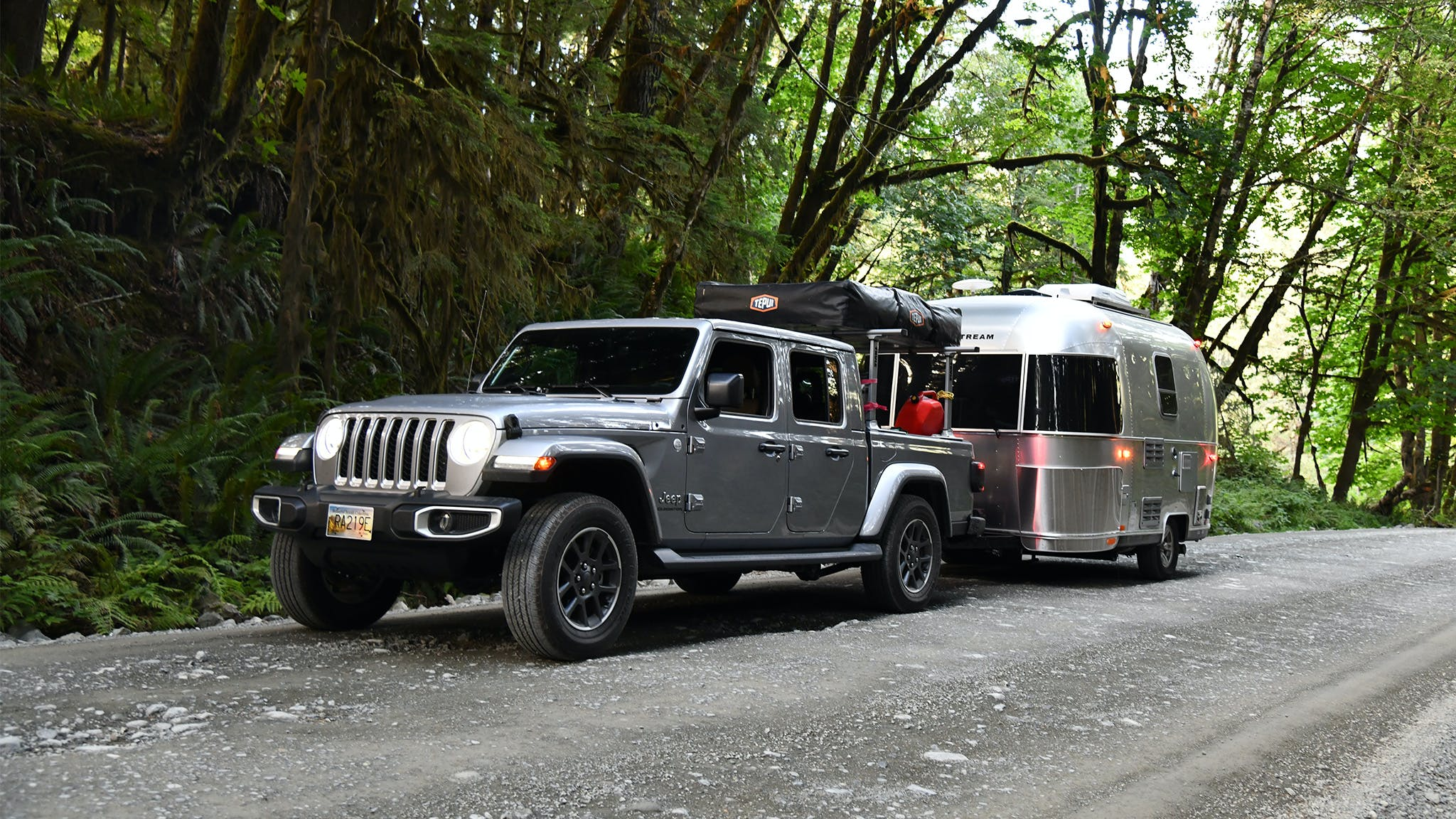Jeep and Airstream