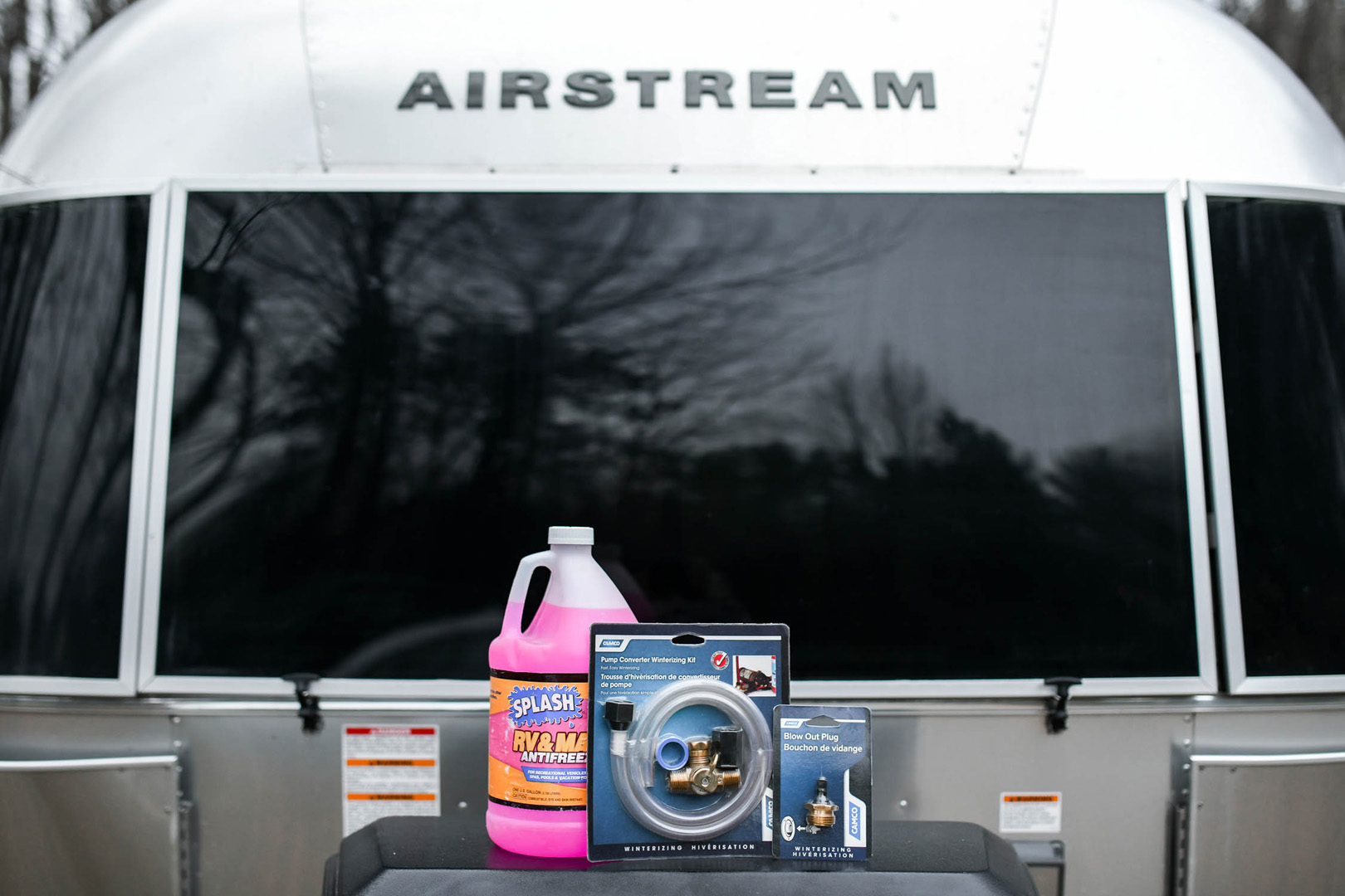 Airstream Winterization Guide Supplies Kit