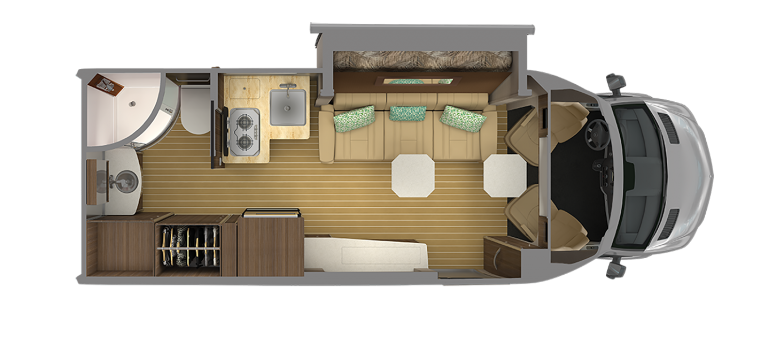 Airstream Atlas Floor Plan Tommy Bahama Special Edition