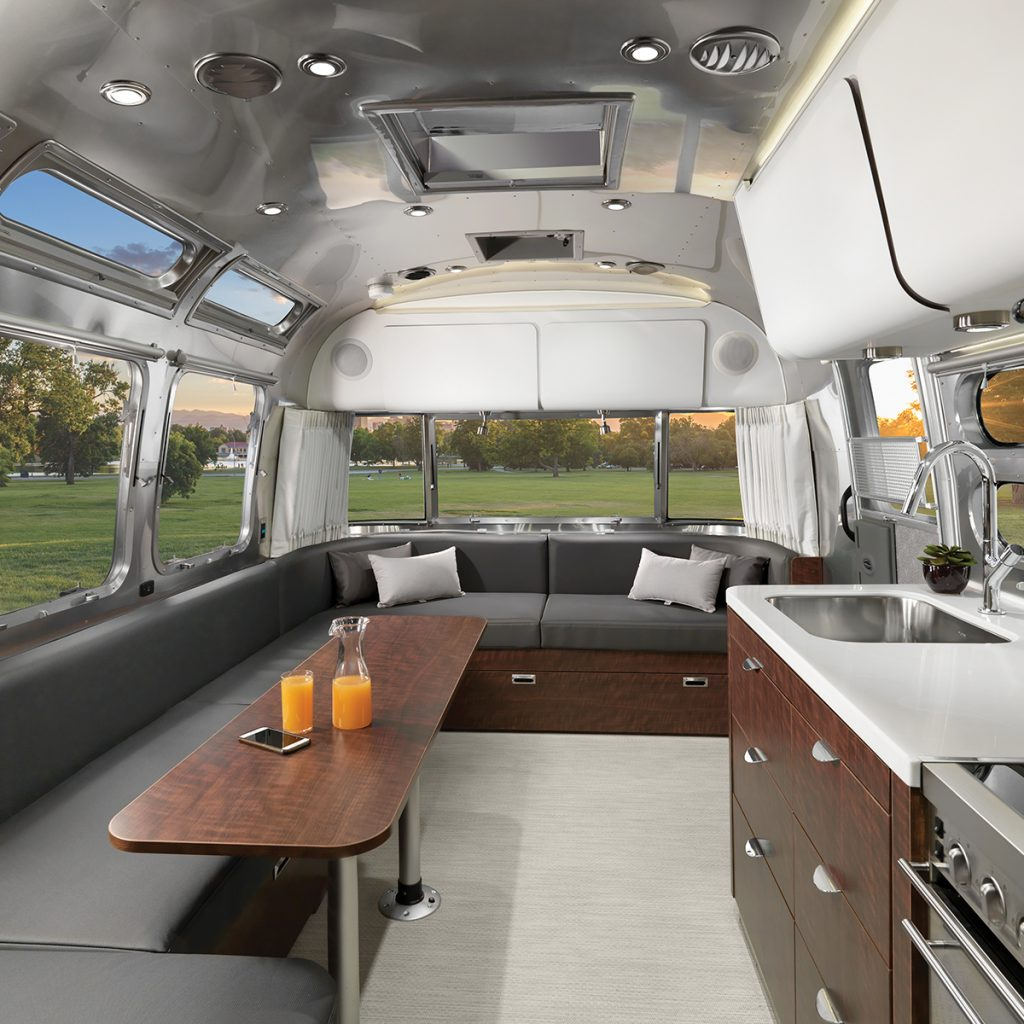 Airstream-Globetrotter-30RB-Dublin-Slate-Interior-Galley-to-Front