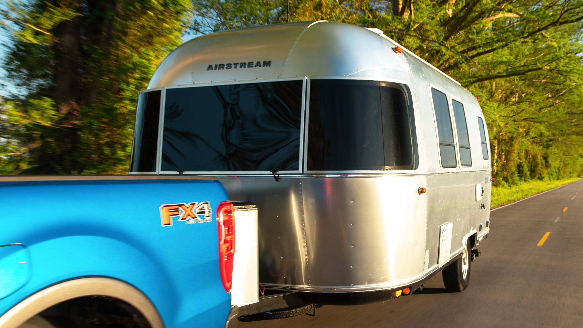 Airstream Bambi Towing
