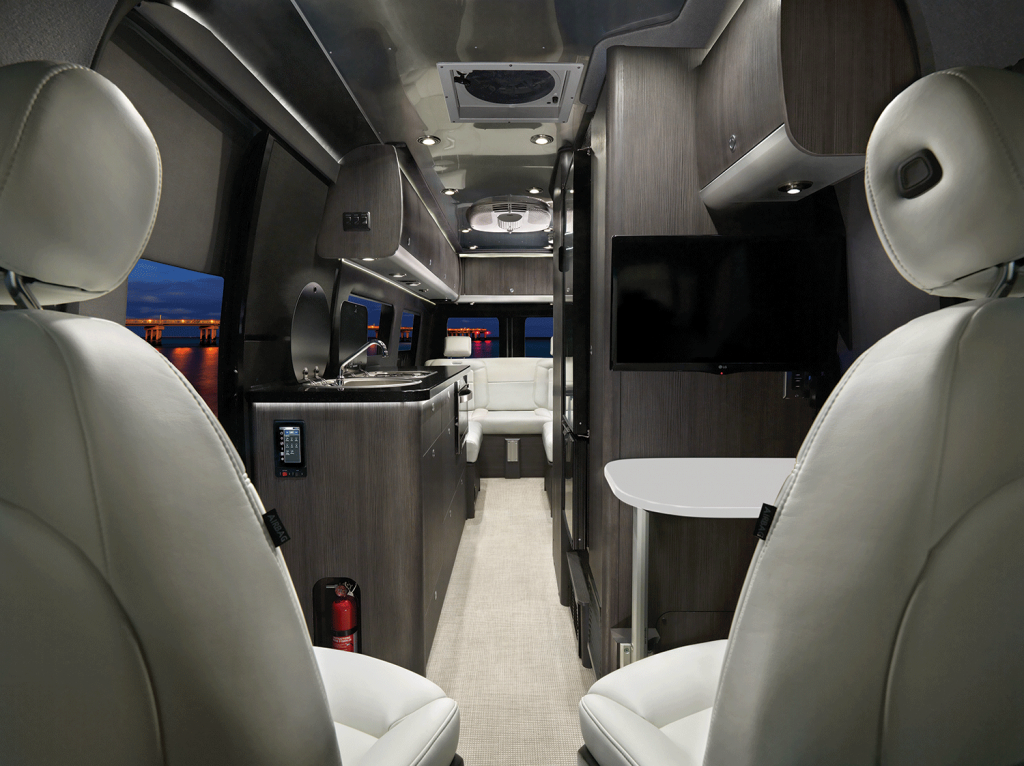 2020 Airstream Interstate Grand Tour Interior Lux White