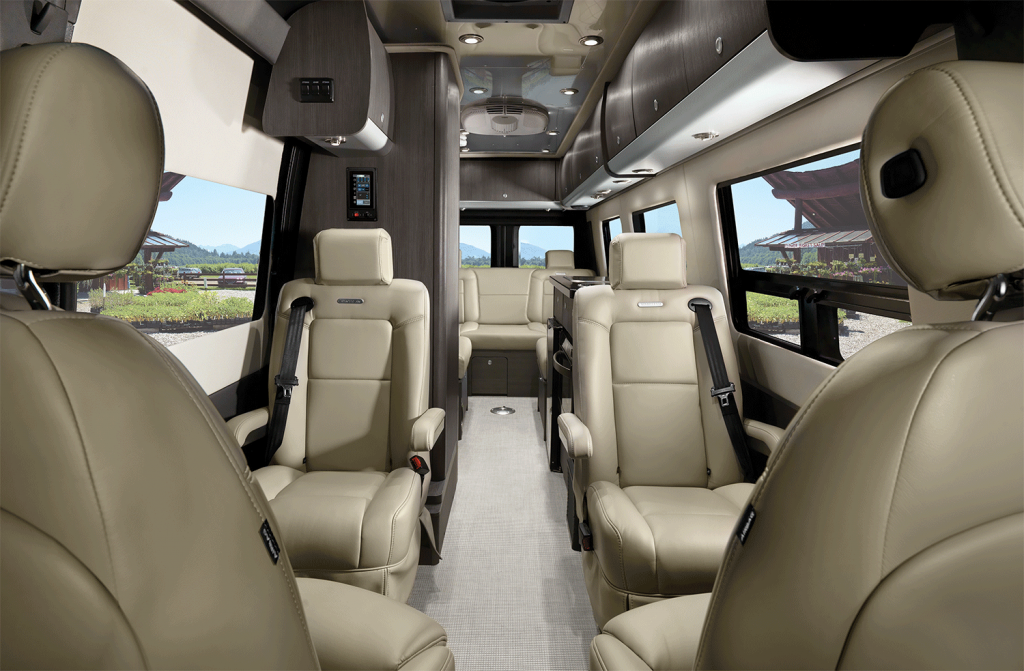 2020 Airstream Interstate Lounge Interior Modern Greige