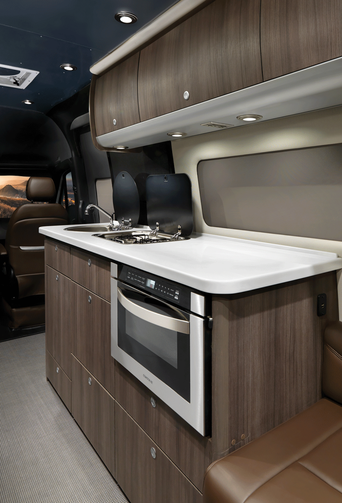 2020 Airstream Interstate Grand Tour Galley in Refined Brown