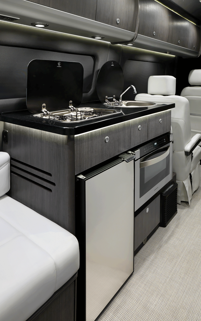 2020 Airstream Interstate Lounge Galley in Lux White