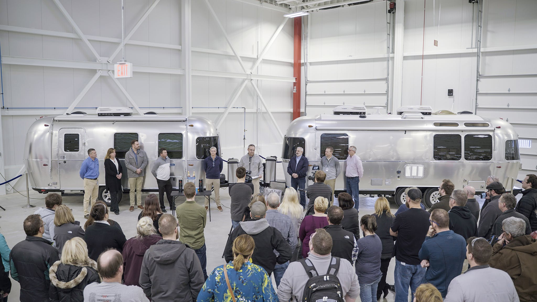 Airstream Christening Ceremony First Trailer and Last Trailer