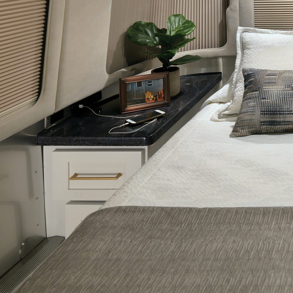 Airstream-Classic-30RB-Comfort-White-Bedroom-Storage