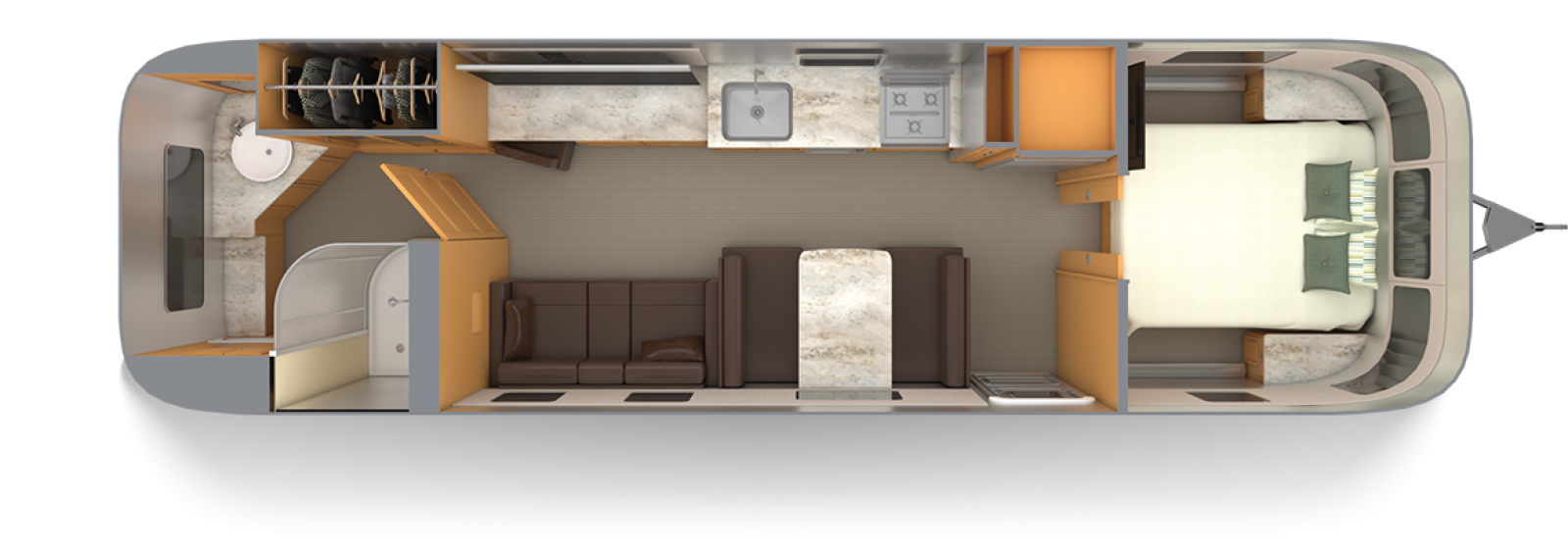 Airstream-Classic-33FB-Cognac-Maple-with-Chestnut-Floor-Plan