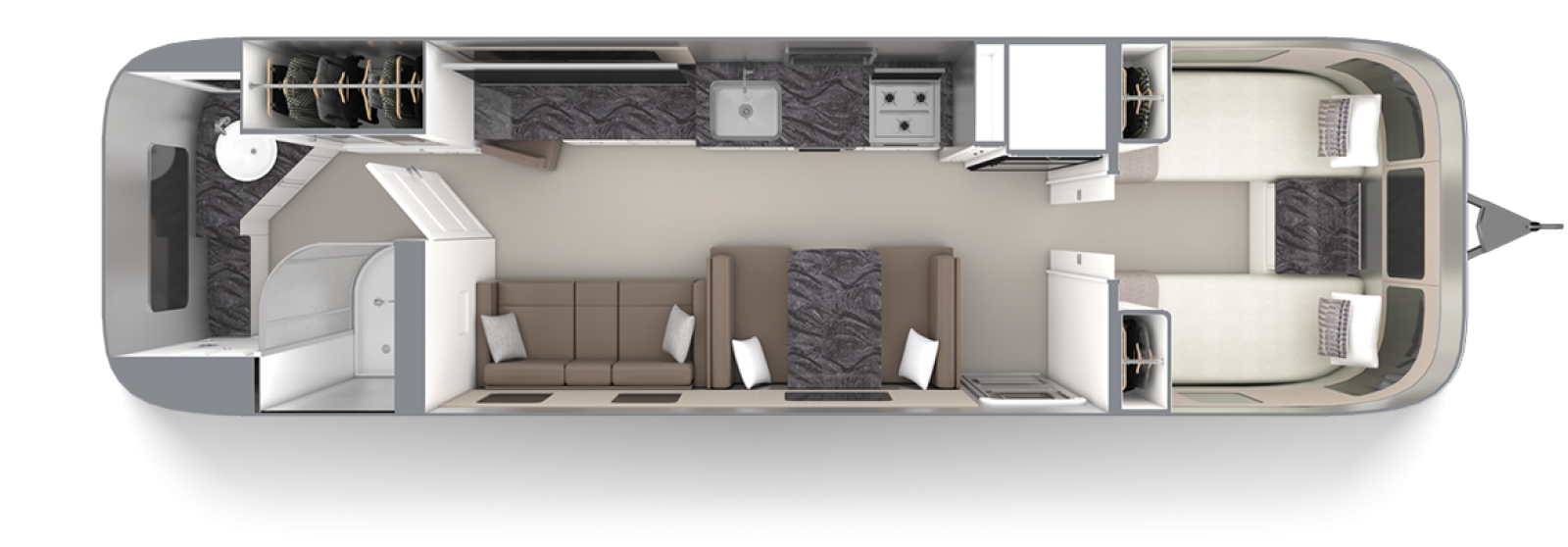 Airstream-Classic-33FB-Twin-Comfort-White-Cafe-Latte-Floor-Plan
