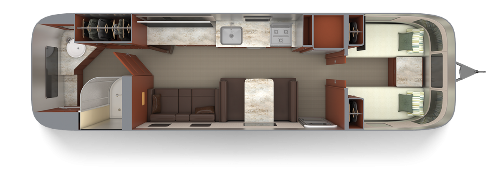 Airstream-Classic-33FB-Twin-Mocha-Cherry-with-Chestnut-Floor-Plan