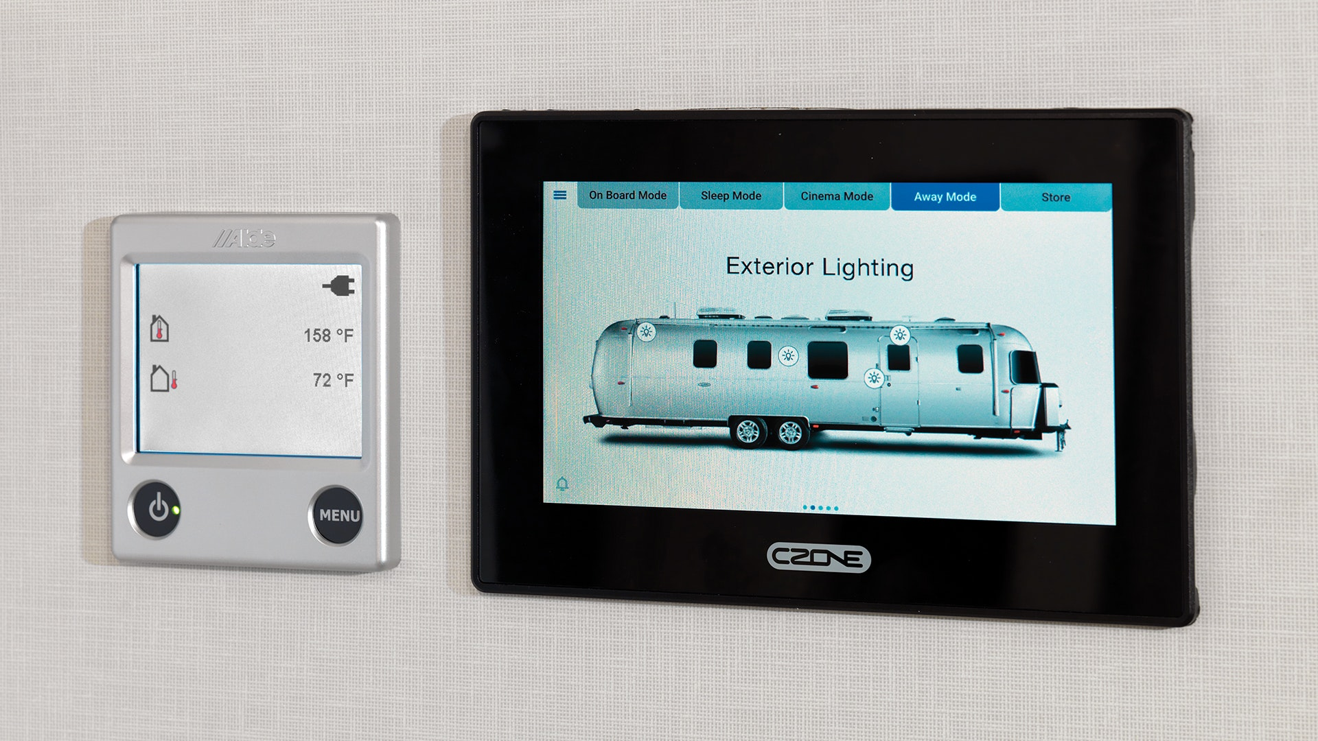 Airstream-Classic-Smart-Control-Technology-cZone-Panel-Exterior-Light-Control