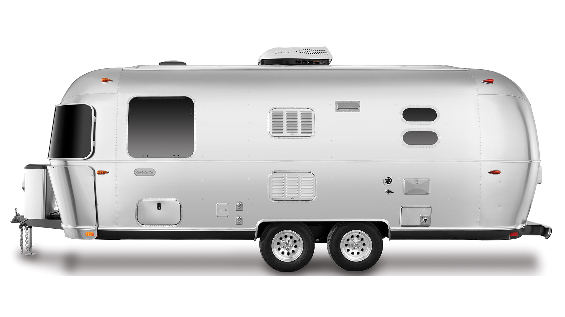 Airstream Globetrotter 23FB Twin Street Side Travel Trailer