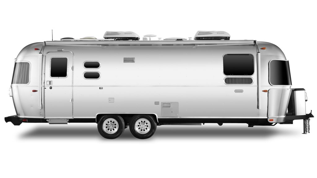 Airstream Globetrotter 27FB Curb Side Exterior