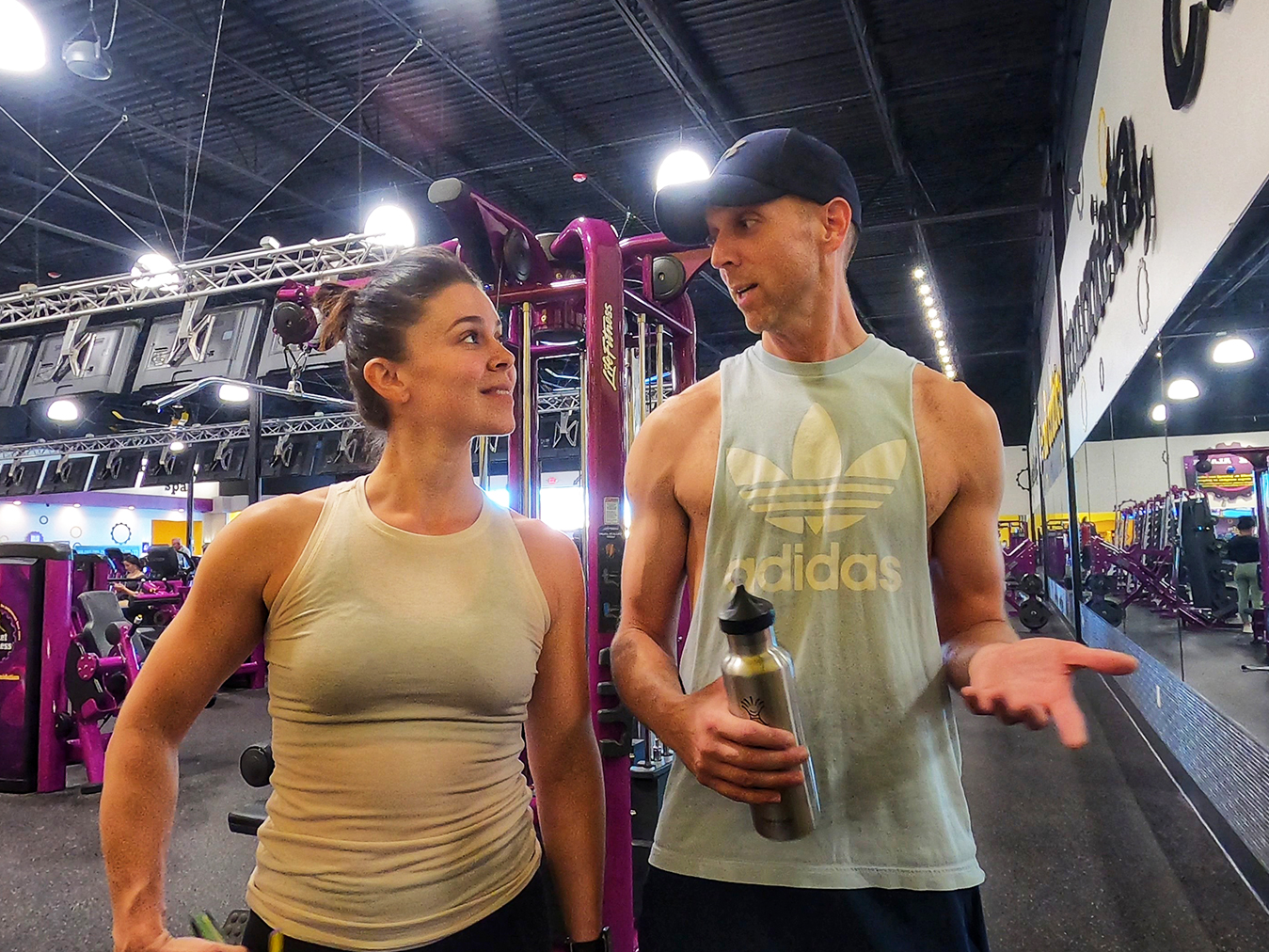 Christine-and-Aaron-Working-Out