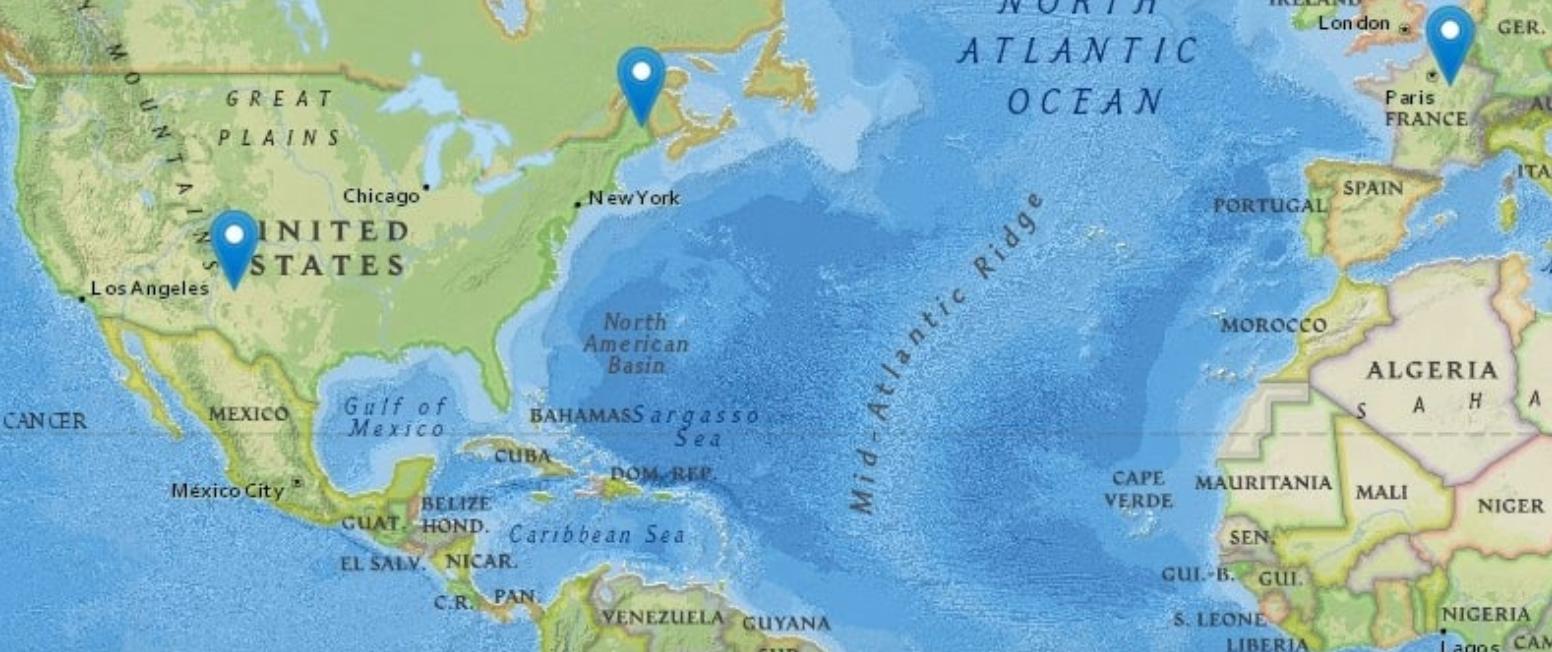 Dennis-Ambassadors-Travel-Map