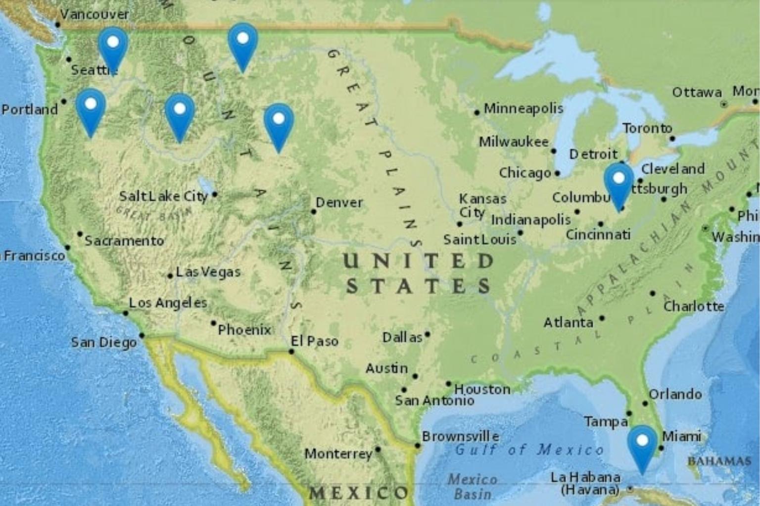 Elkins-Ambassadors-Travel-Map