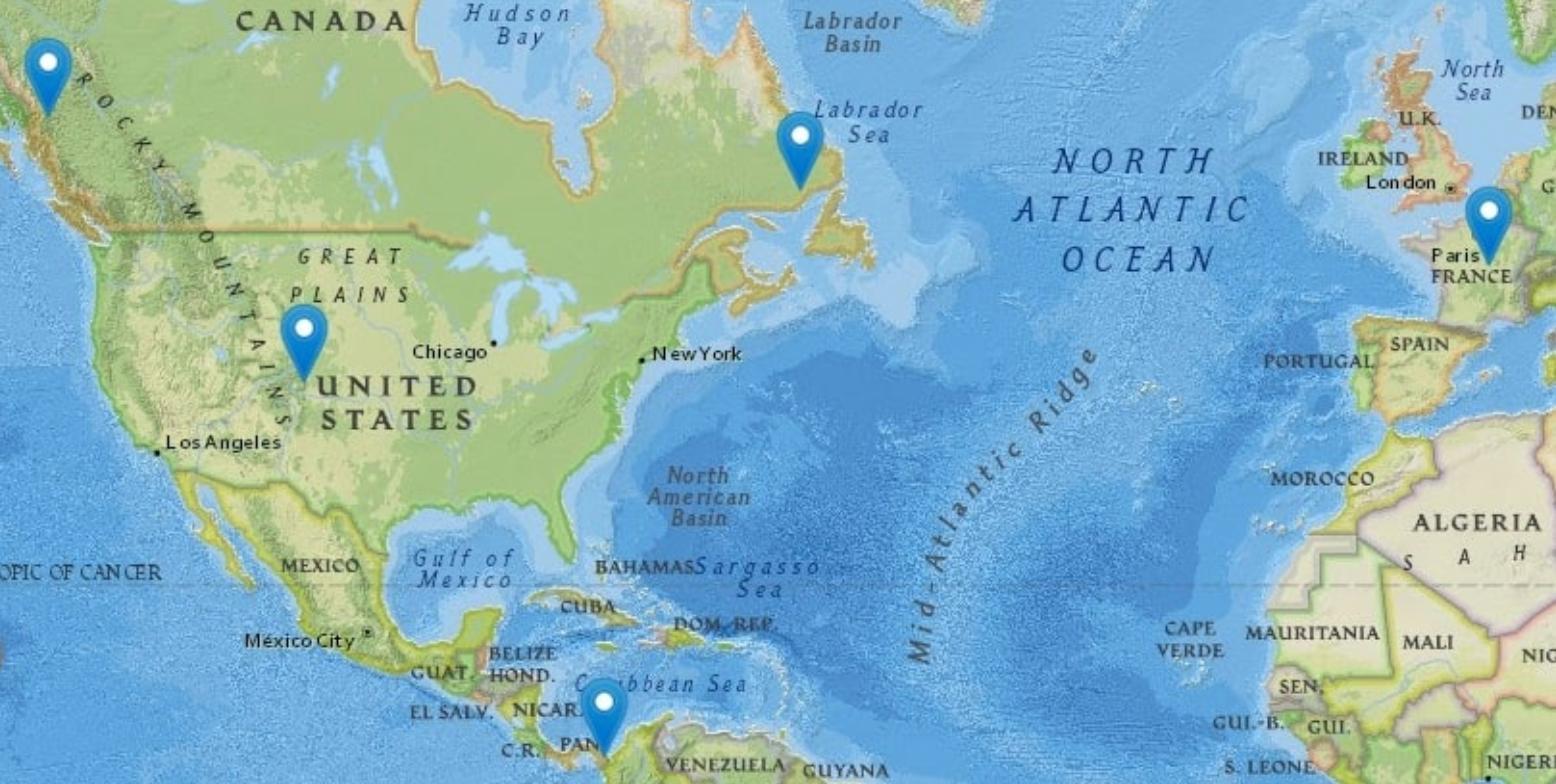 Triples-Ambassador-Travel-Map