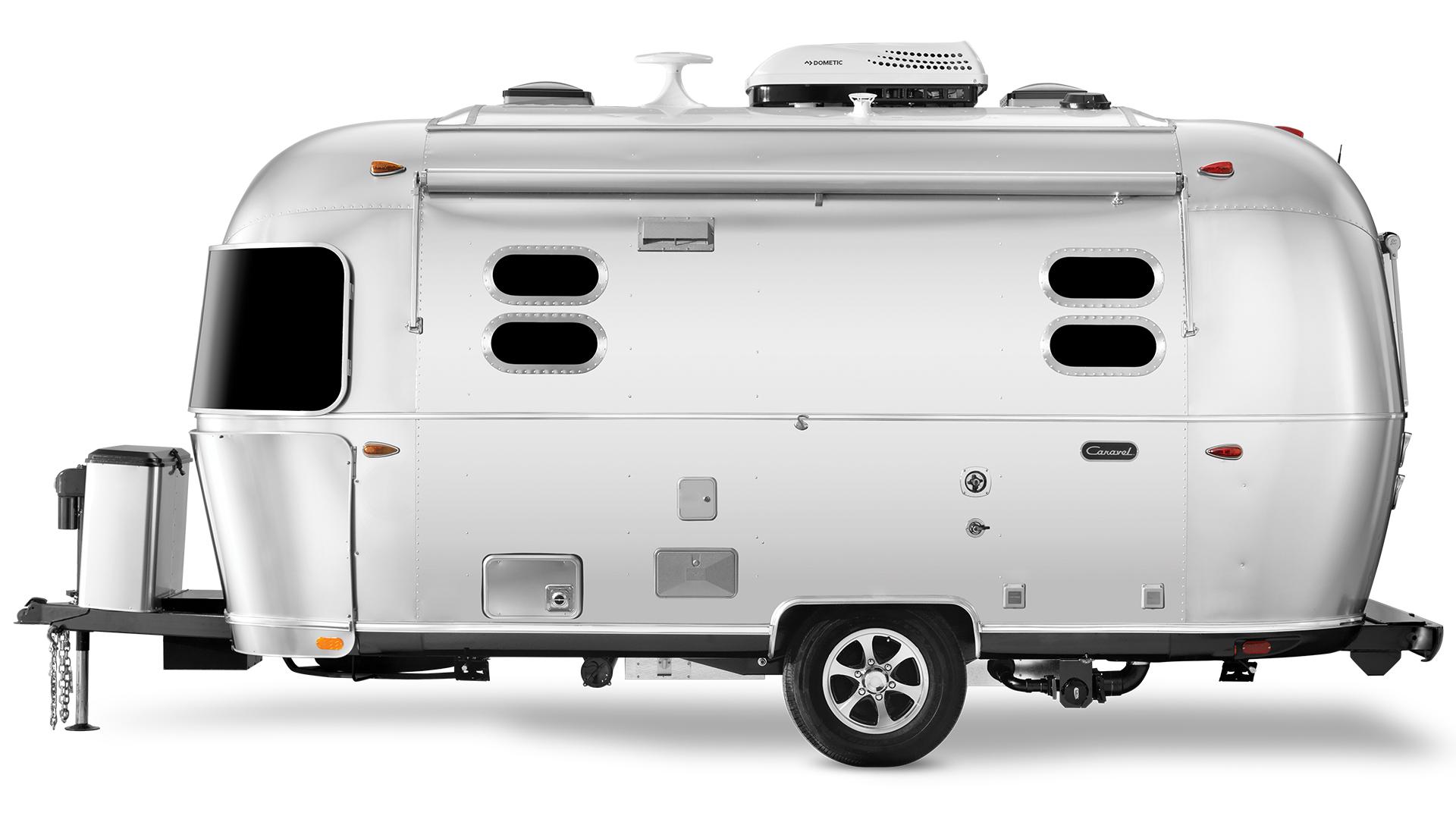 Airstream-Caravel-19CB-Travel-Trailer-Streetside