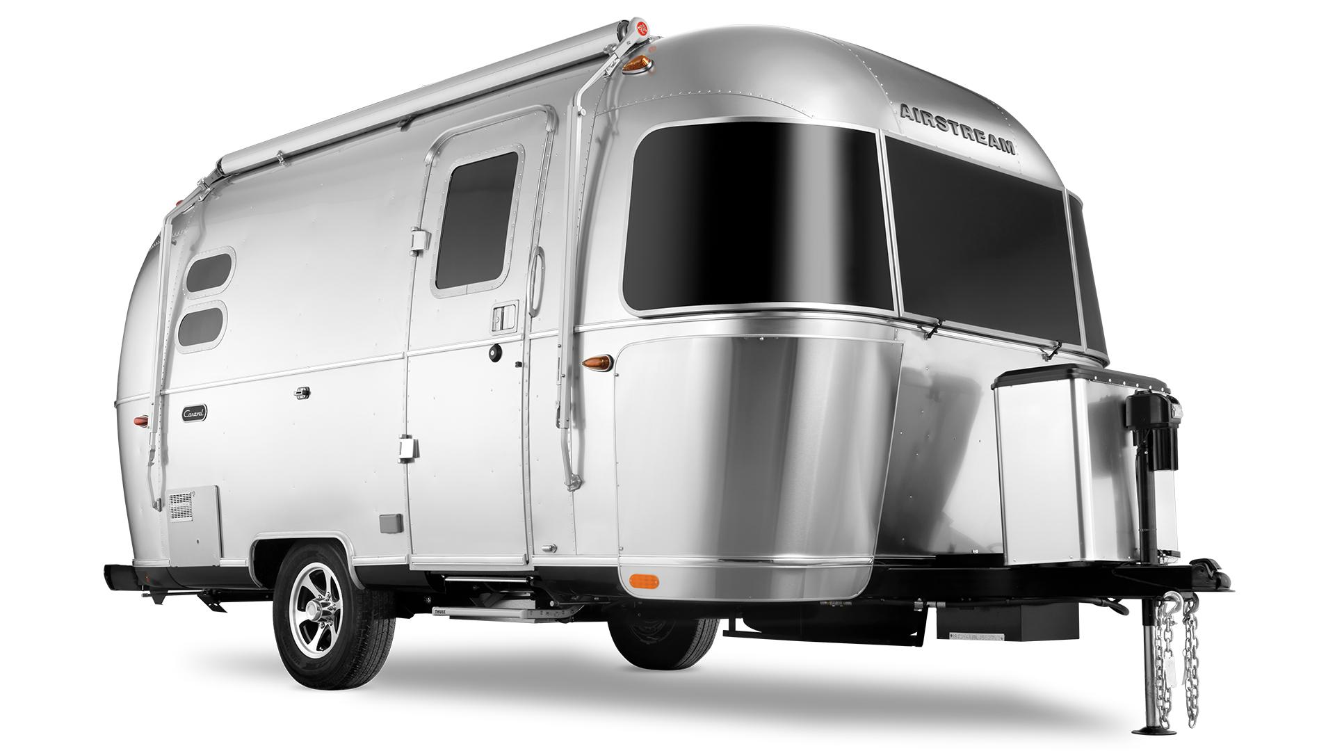 Caravel 19cb Floor Plan Travel Trailers New Small Airstream Rv Trailer