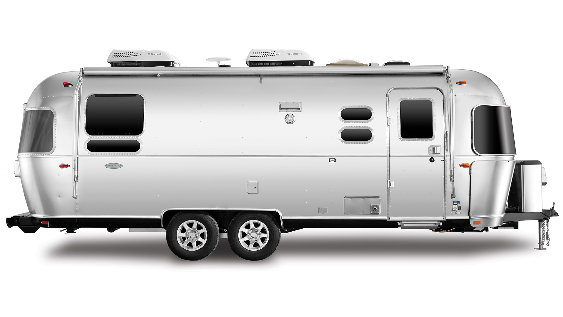 Airstream-Flying-Cloud-25RB-Travel-Trailer-Exterior-Curb-Side