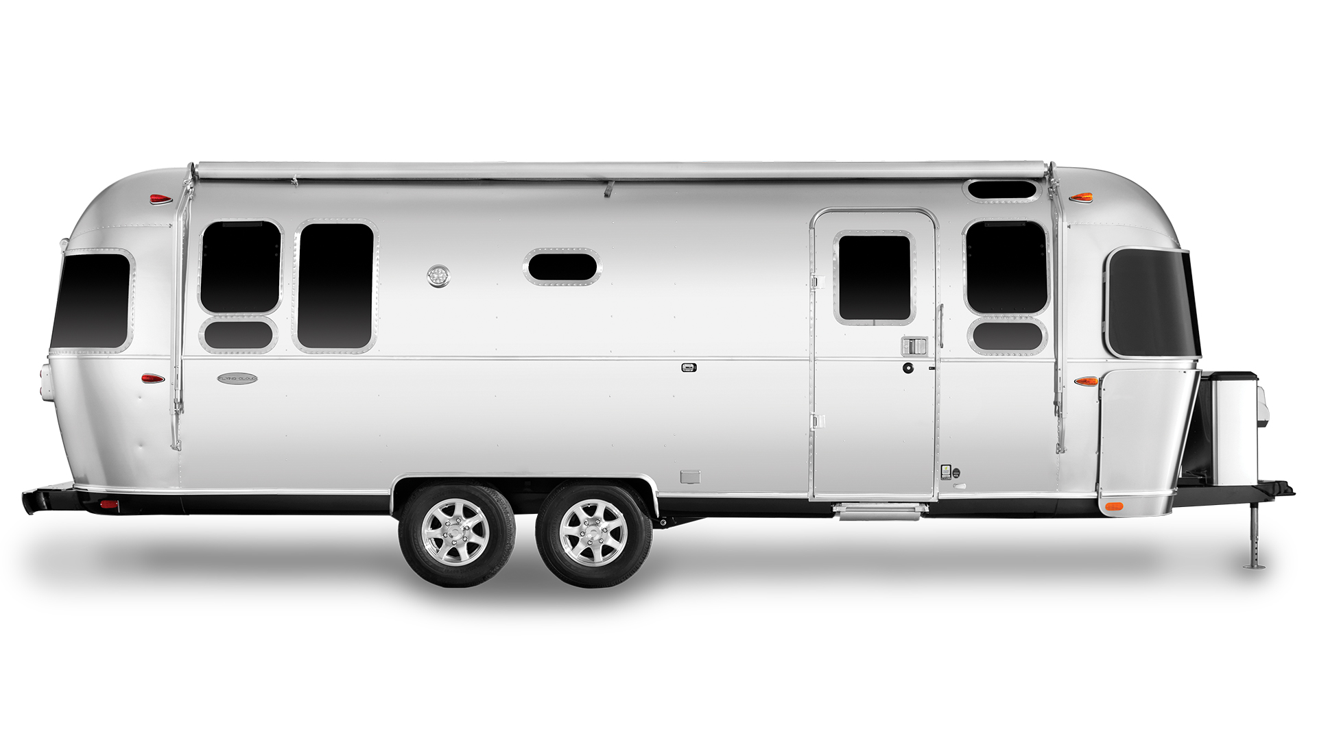 Airstream-Flying-Cloud-26RB-Travel-Trailer-Curb-Side