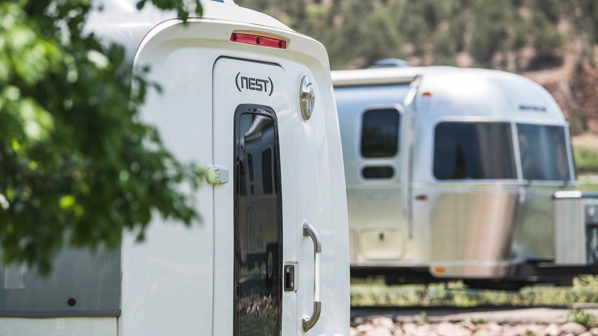 Airstream Nest and Travel Trailer