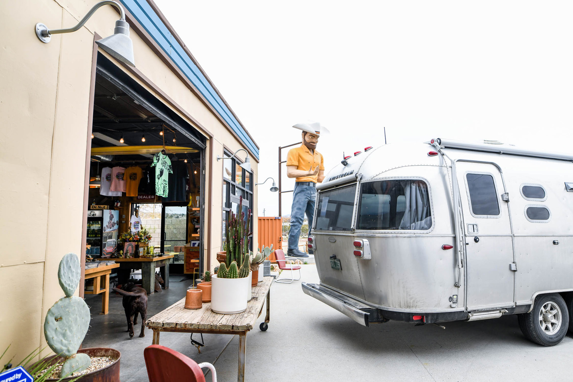 Airstream Travel Trailer RV Exterior