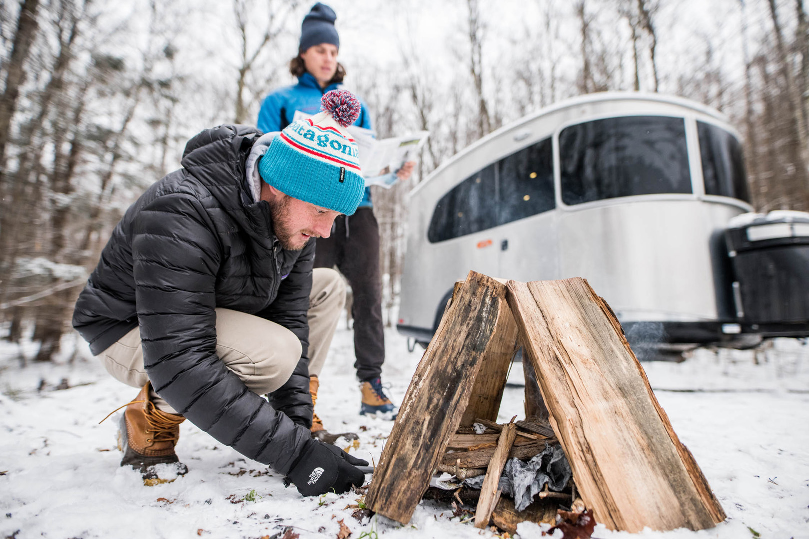 Airstream Winter Camping Tips Travel Trailer2