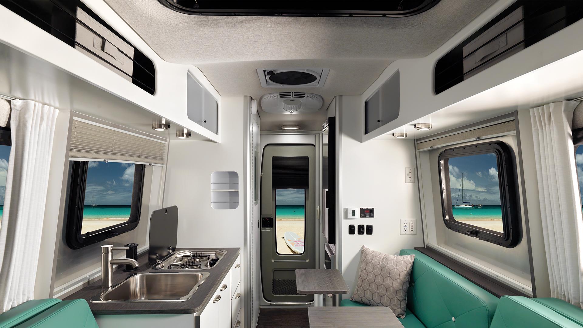 Nest Airstream Storage Interior