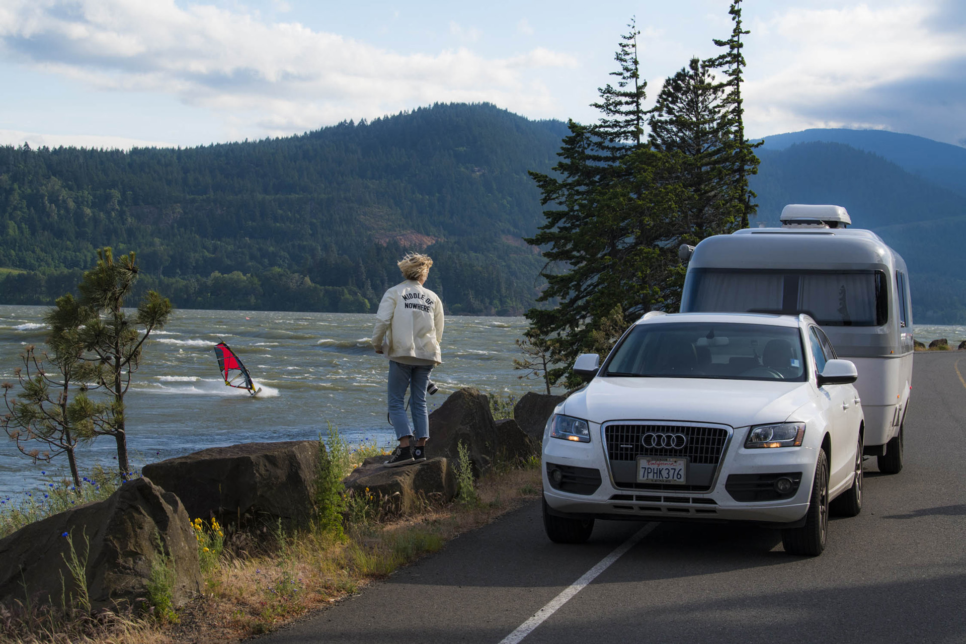 Nest by AIrstream Laura Austin with Audi Q3