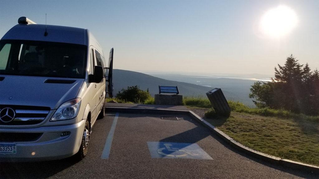 Acadia Cadillac Mountain