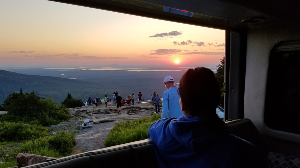 Acadia Cadillac Mountain Sunset