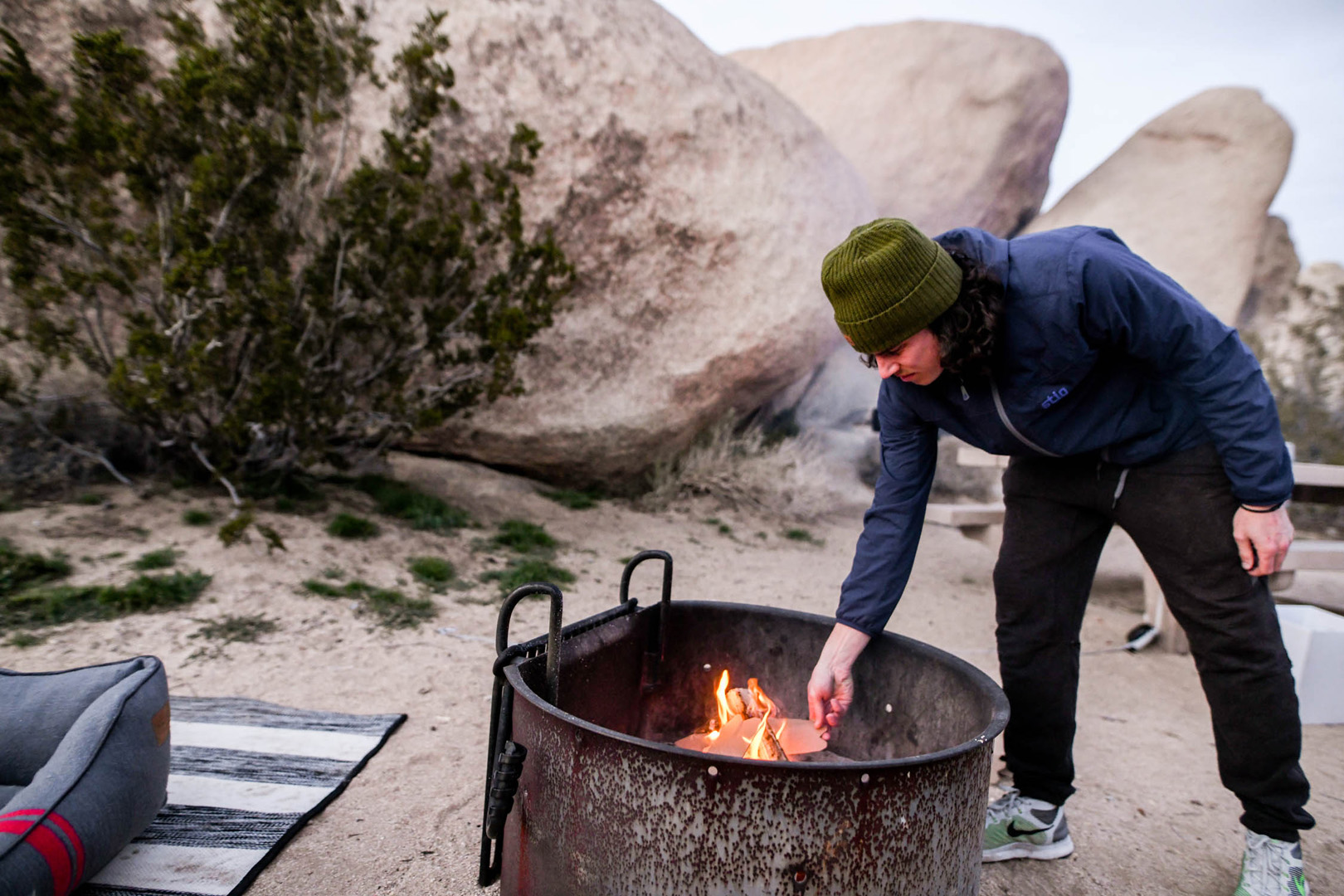 Airstream Travel Adventures Open Fire Pit