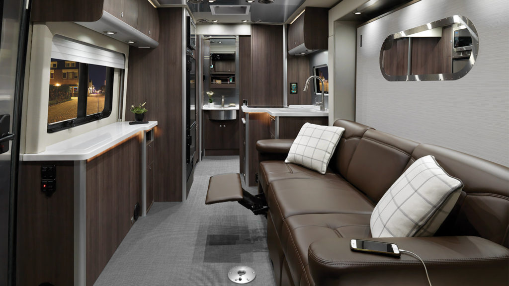 Airstream Atlas Living Area