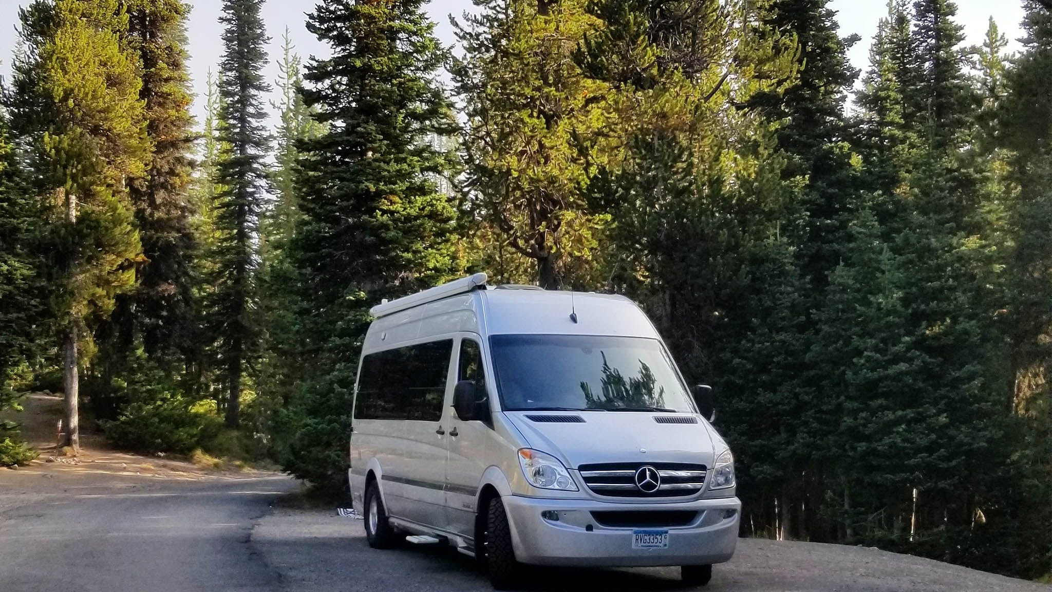 Airstream Interstate in a National Park