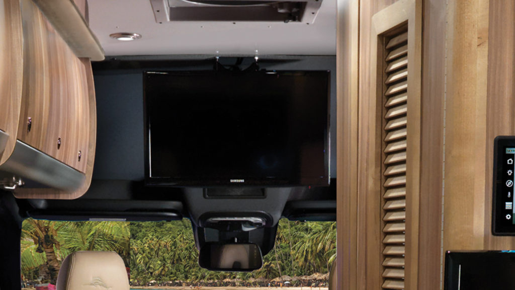 Airstream Interstate Front TV Mount