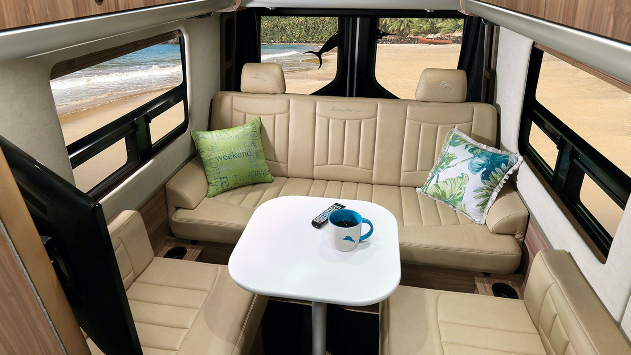 2020 Airstream Interstate Lounge Tommy Bahama Interior