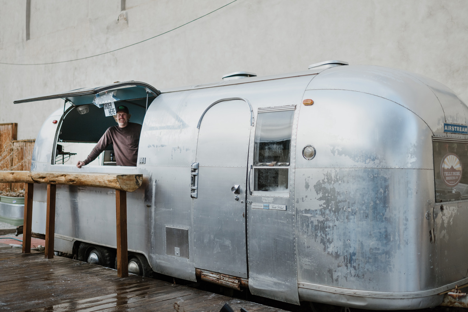 Bensons Tavern and Beer Garden Airstream